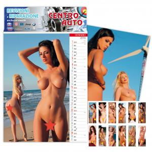 XXX Calendario Beautiful Girl 2018